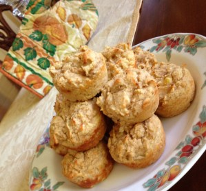 Banana Spice Protein Muffins