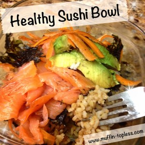 Healthy Sushi Bowl