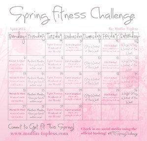 Spring Fitness Challenge for April!
