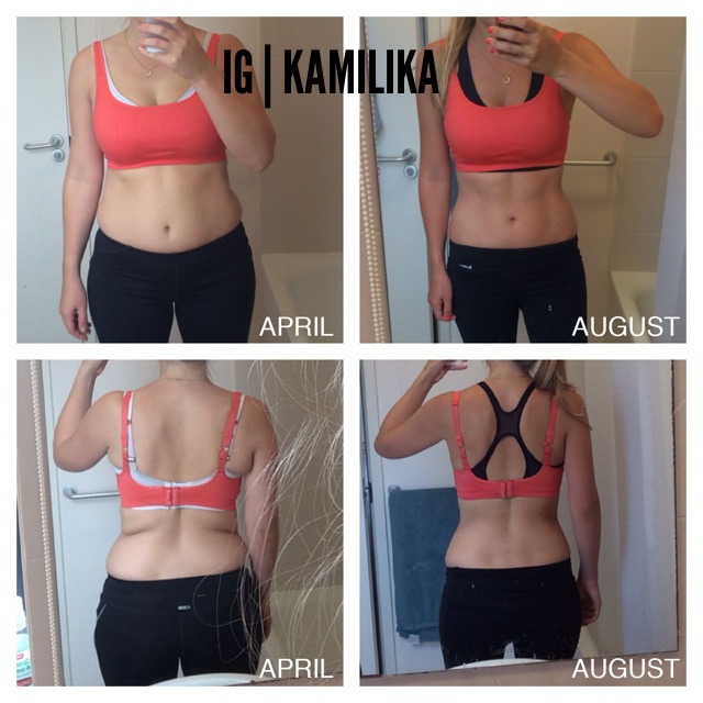 Kamilika lost inches and gained confidence with this workout program!