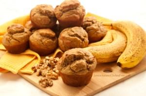 Gluten-Free Banana Nut Protein Muffins