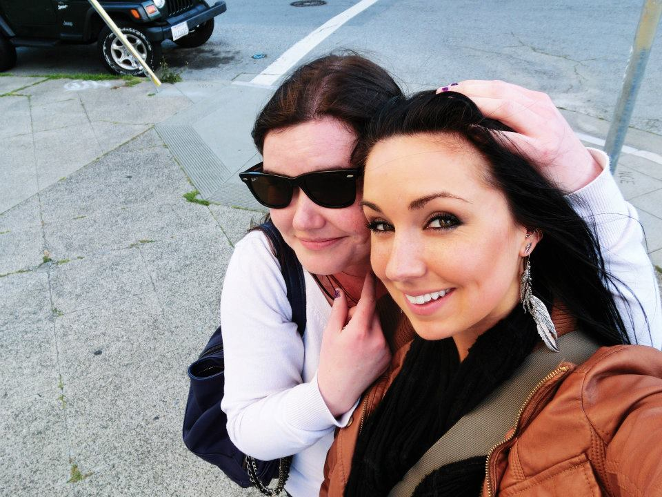 My amazing friend, Tiffany and I when I lived in San Francisco briefly last year.