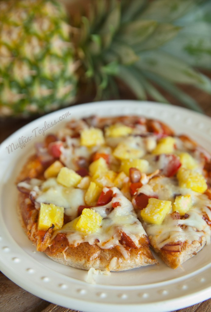 Pineapple and Sauteed Veggie Pizza Recipe