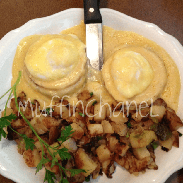 muffinchanel july favorites 2013 eggs benedict