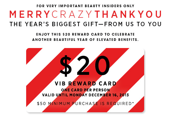 muffinchanel vib rouge vibr special surprise gifts vib sephora free coupon 20