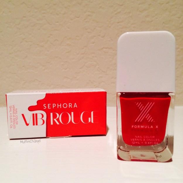 MuffinChanel Sephora VIB Rouge Birthday Haul 2014 formula x vib rouge renewal