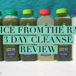 Juice From The Raw – 3 Day Cleanse | REVIEW