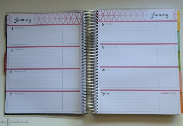 muffinchanel 2016 erin condren life planner life planner horizontal layout 2015 comparison + review horizontal layout