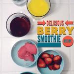 Delicious Berry Smoothie | Recipe