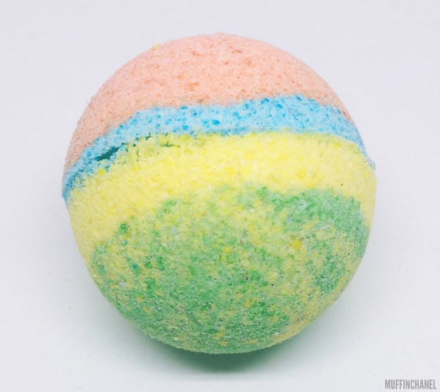 MuffinChanel DIY Bath Bomb LUSH recipe bath bombs essential oils ingredients sex bomb the experimenter rainbow