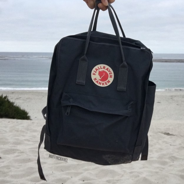 fjallraven kanken backpack review how big what's in my bag muffinchanel