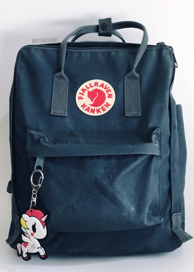fjallraven kanken backpack review how big what's in my bag muffinchanel cute