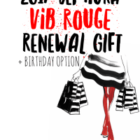 2017 Sephora VIB Rouge Renewal Gift + Birthday Option