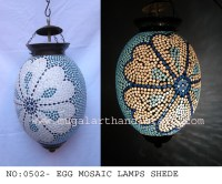 Mosaic Lamp Shade - Mugal Art Glass - Manufacturer ...