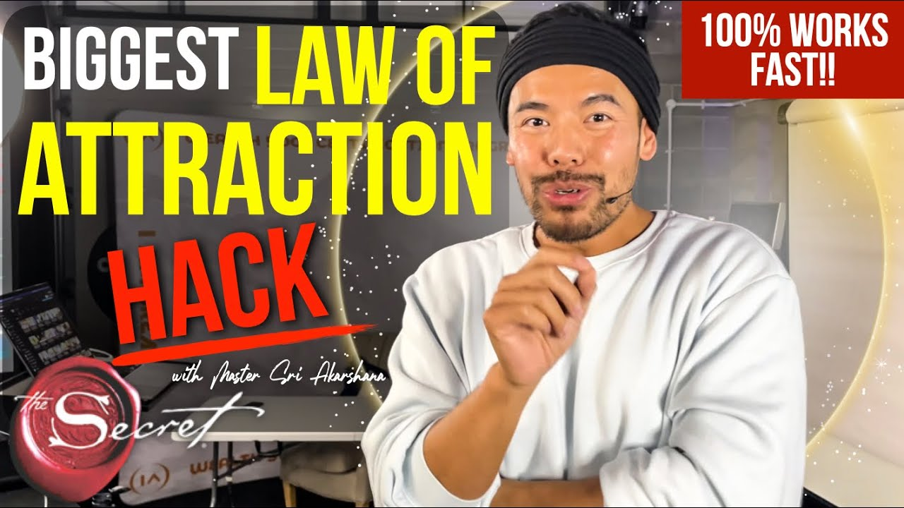 The Ultimate Law of Attraction HACK Nobody Speaks About [100% Works FAST!!]