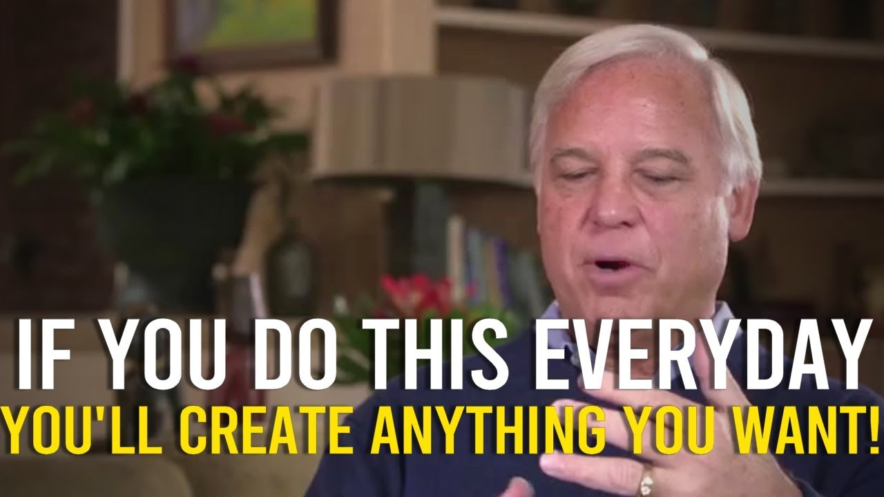 JACK CANFIELD | The Law Of Attraction CHEAT CODE! (use this everyday!)