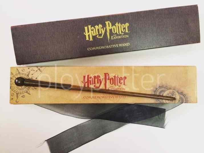 ไม้ที่ระลึกสำหรับงานนิทรรศการ Harry Potter (Harry Potter: The Exhibition)