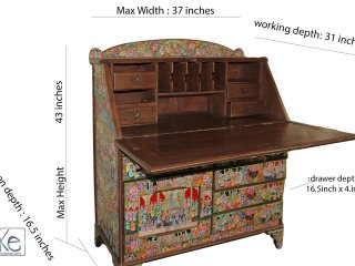 Mughal craft table