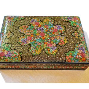 Miniature jewellery box /Real gold mixed box/
