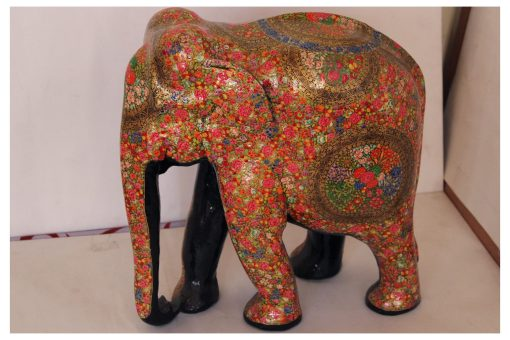 wooden handpainted elephant2 scaled