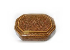 Octagonal jewelry box