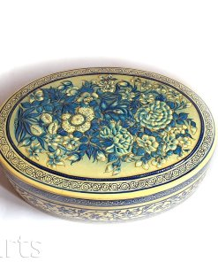 Jewelry box blue, Jewelry box, blue trinket, wedding box, handmade