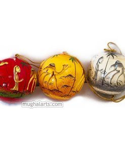handcrafted christmas gifts, Paper mache online, Christmas decor balls, handmade balls for sale, home decor balls, papier mache balls for sale online