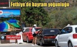 Fethiye'de bayram yoğunluğu