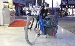 Pandemi dönemini modifiyeli bisiklet üreterek değerlendiriyor