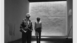 Graciela Iturbide, Manuel Álvarez Bravo y Francisco Toledo, CFMAB Murguía, Oaxaca, 1996. Plata gelatina, 165 x 110 cm. Colección Toledo del CFMAB.
