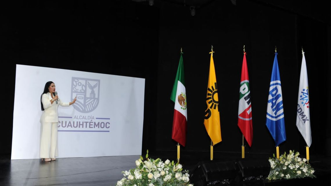 Fotografía: Alcaldía Cuauhtémoc