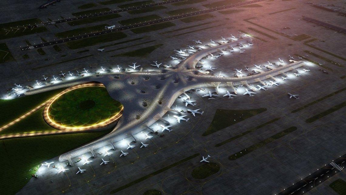 Fotografía: Nuevo Aeropuerto MX