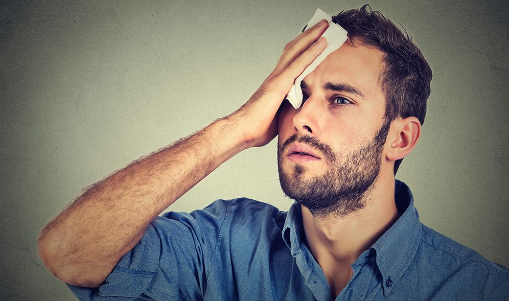 How to Find Relief from Excessive Sweating