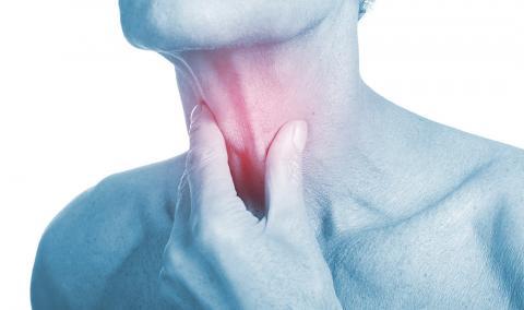 sore throat illustration