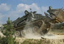 The Swiss knife of army tanks