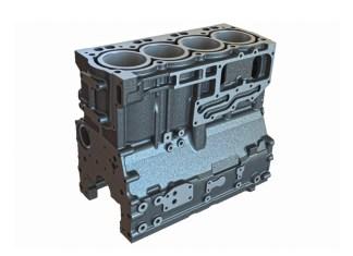 4 silindirli bir motor bloğu