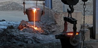 ferrokrom üretimi