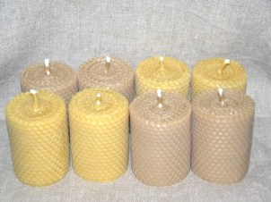 Mesilasvahast küünlad