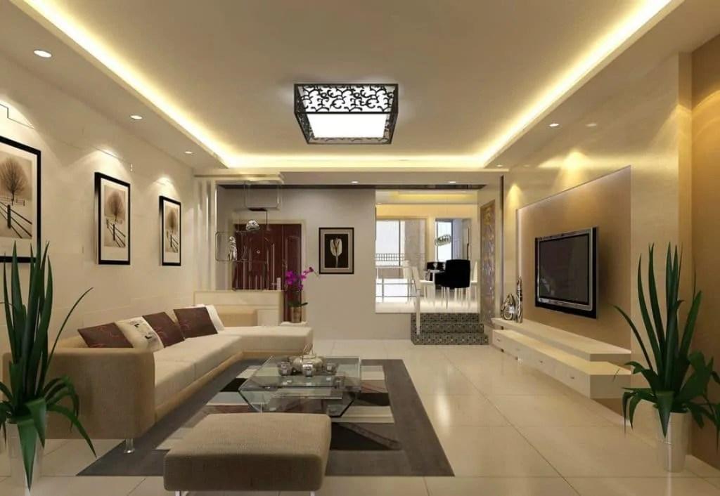 simple pop ceiling designs for living room in india modern curtain ideas ديكورات الأسقف المنزليه 2019 (جبس امبورد) - موقع محتوى