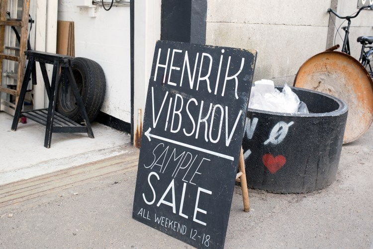henrik vibskov sample sale oh noes!
