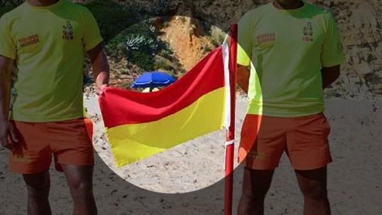 Existe uma nova bandeira nas praias portuguesas. Sabes o que significa esta bandeira?