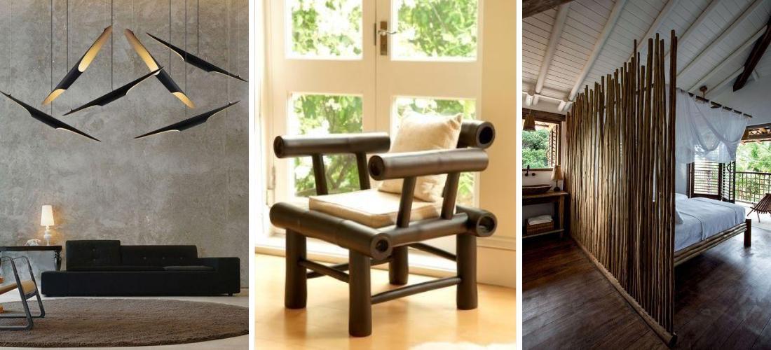 10 frescas ideas para decorar con bamb