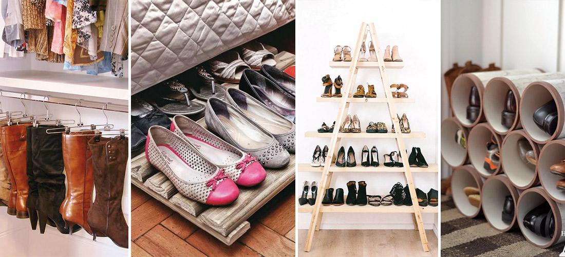 Ideas geniales para acomodar tus zapatos  Mujer de 10
