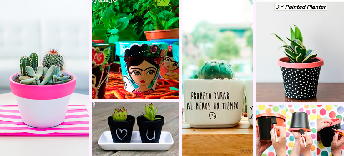 Ideas para decorar tus macetas de manera creativa y nica