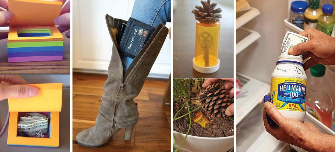 10 formas econ micas de hacer tu casa m s segura y a prueba de robos mujer de 10 - Guardar dinero en casa de forma segura ...