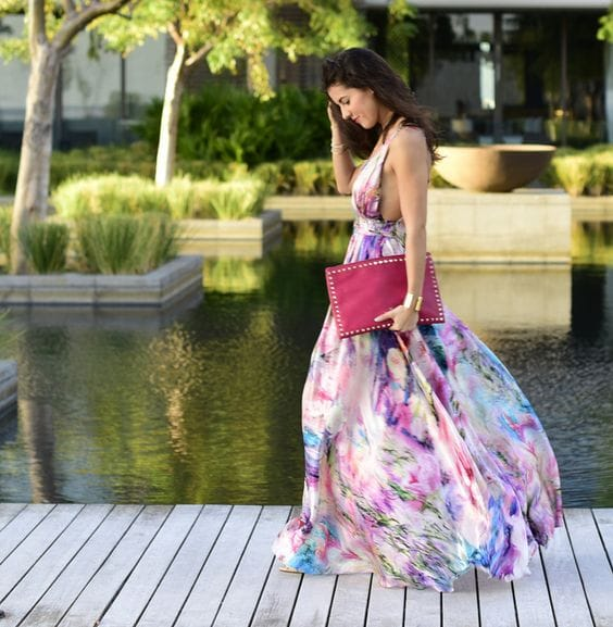 10 ideas de vestidos para asistir a una boda de d a for Boda en jardin vestidos