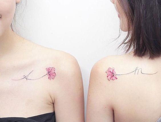 Tatuajes Que Sólo Debes Compartir Con Tu Mejor Amiga Mujer De 10