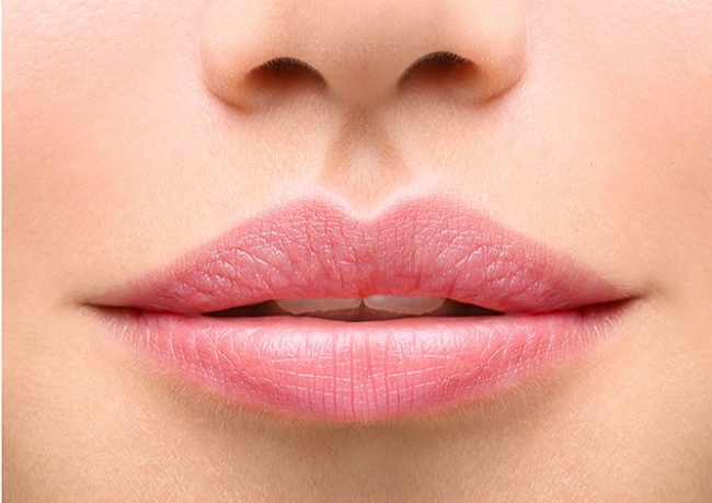 forma de tus labios