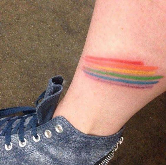 Tatuajes De Homenaje Al Orgullo Gay Mujer De 10
