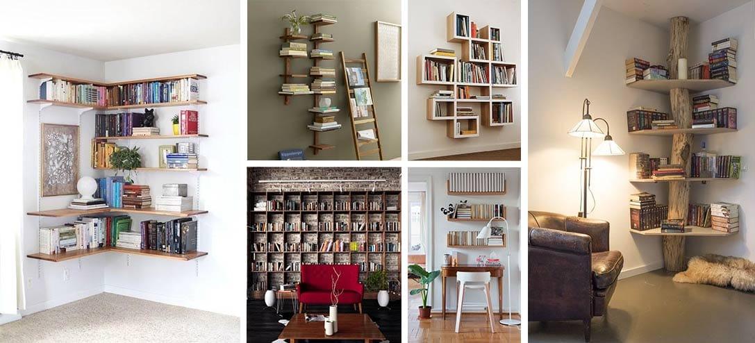 Formas de decorar con estantes de libros en tu habitacin